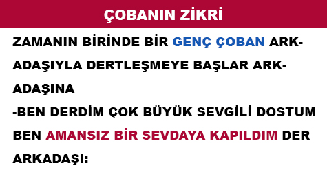 ÇOBANIN ZİKRİ