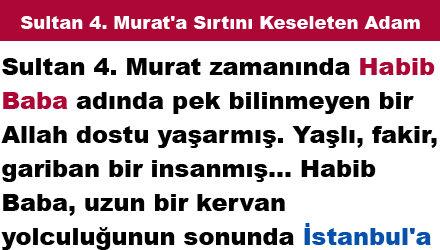 Sultan 4. Murat'a Sırtını Keseleten Adam
