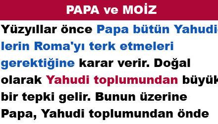 PAPA ve MOİZ