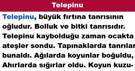Telepinu