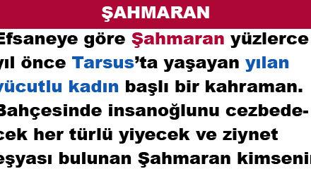ŞAHMARAN