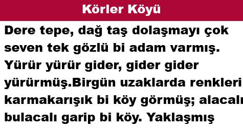 Körler Köyü