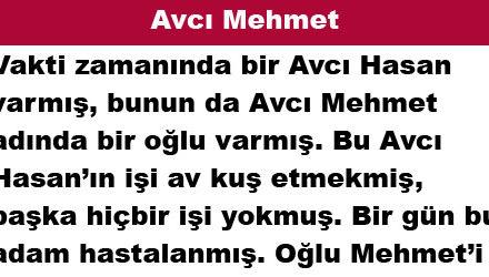 Avcı Mehmet