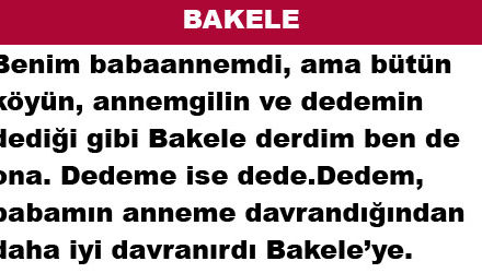 BAKELE