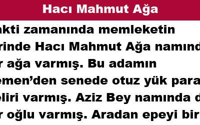Hacı Mahmut Ağa